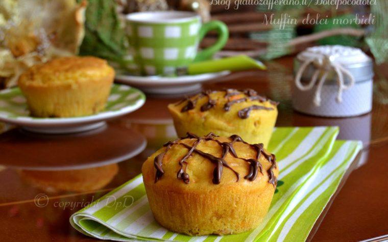 Muffin dolci morbidi carote e pancetta caramellata
