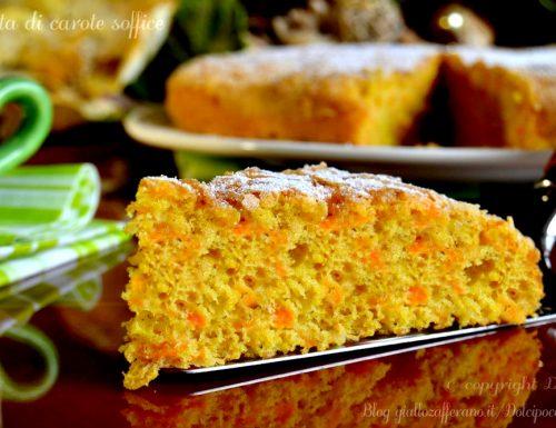 torta di carote soffice