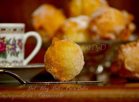 Castagnole carnevale limone e vaniglia