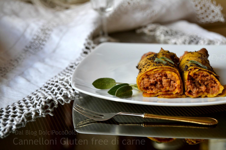 Cannelloni Gluten free di carne