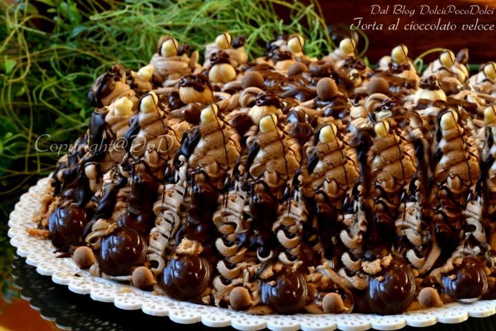 Torta al cioccolato veloce 01