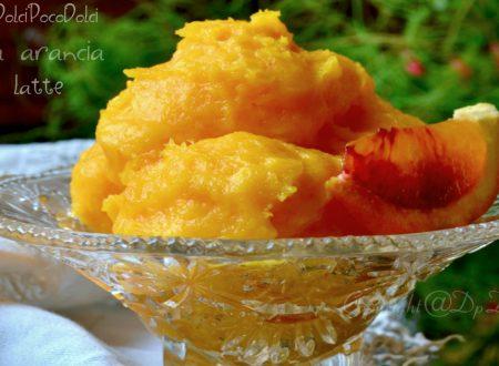 Crema arancia senza latte