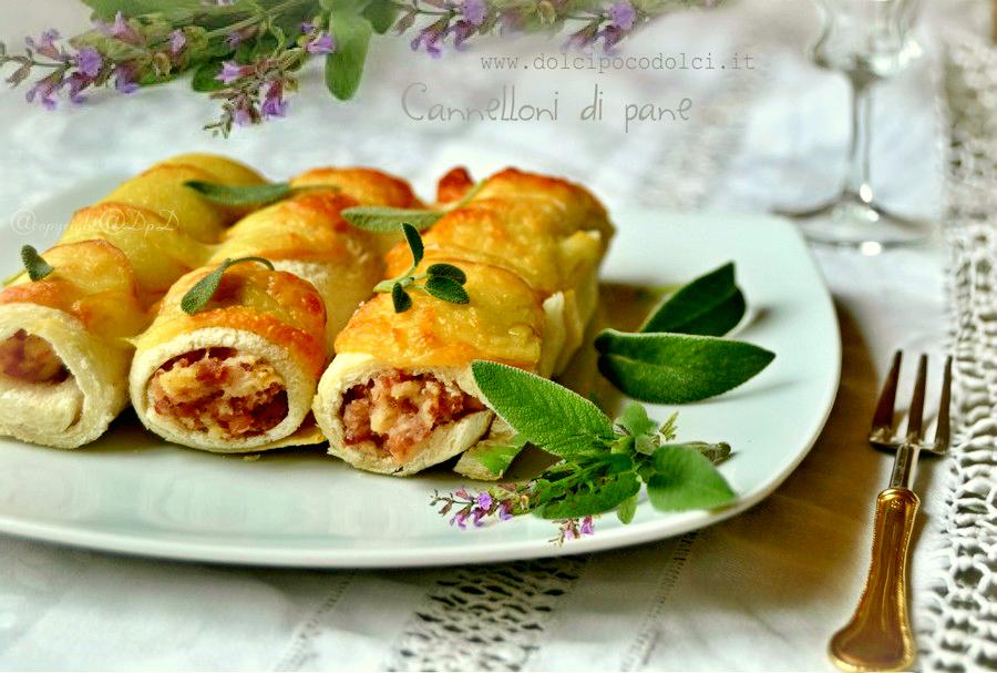 Cannelloni veloci di pane 2+...
