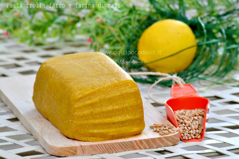Pasta frolla farro e farina di mais 3-1