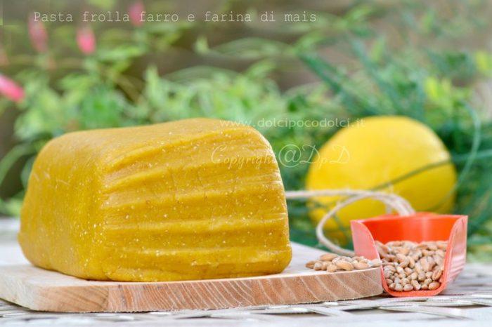 Pasta Frolla Farro e Farina di Mais