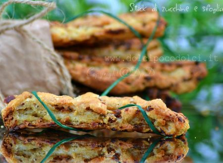 Stick di zucchine e sfoglia