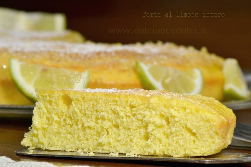 Torta al limone intero 5