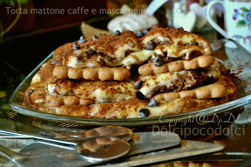 Torta mattone caffe e mascarpone