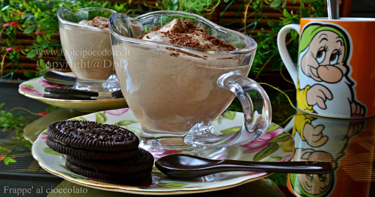 Frappe' al cioccolato