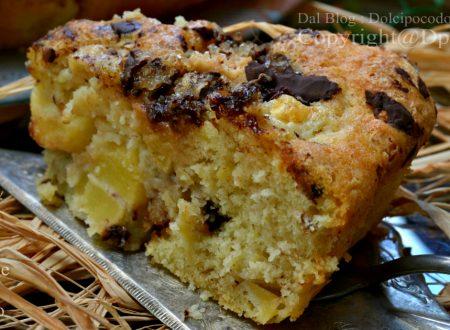 Torta mele e cioccolato senza burro