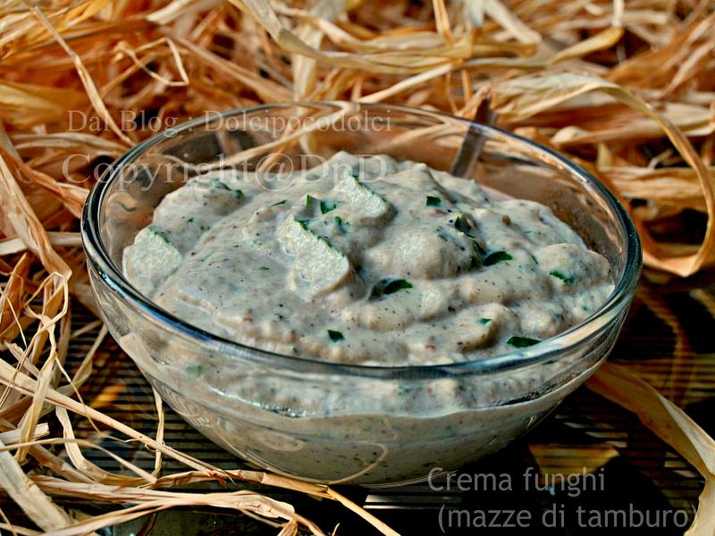 Crema funghi mazze di tamburo