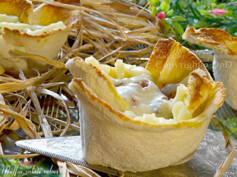 Muffin salati veloci