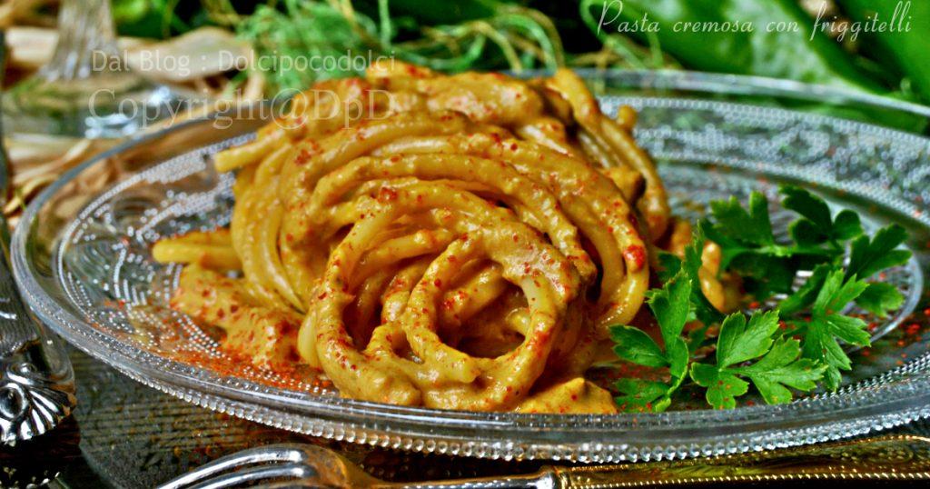 Pasta con peperoni friggitelli