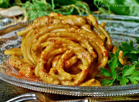 Pasta cremosa con friggitelli
