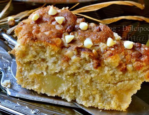 Ricetta torta mele e miglio