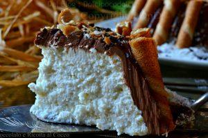 Tortino cioccolato e ricotta al cocco
