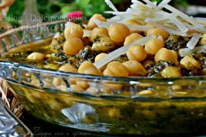 Zuppa ceci e spinaci