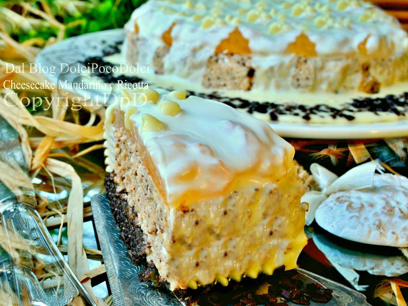 Cheesecake mandarino e ricotta