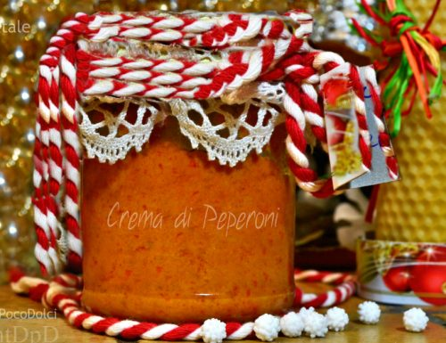 Crema di peperoni rossi | Ricetta in barattolo
