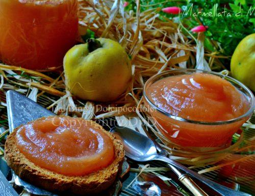 Marmellata di mele cotogne con Bimby