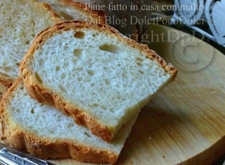 Ricetta pane fatto in casa con malto