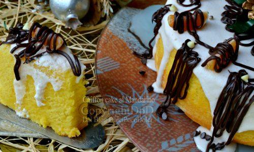 Chiffon cake al mandarino | Ricetta dolce di Natale