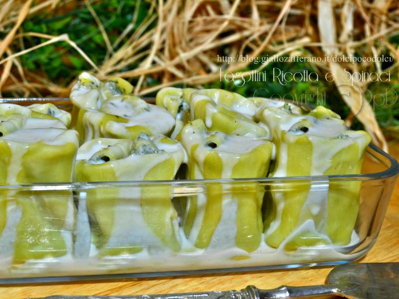 Fagottini ricotta e spinaci