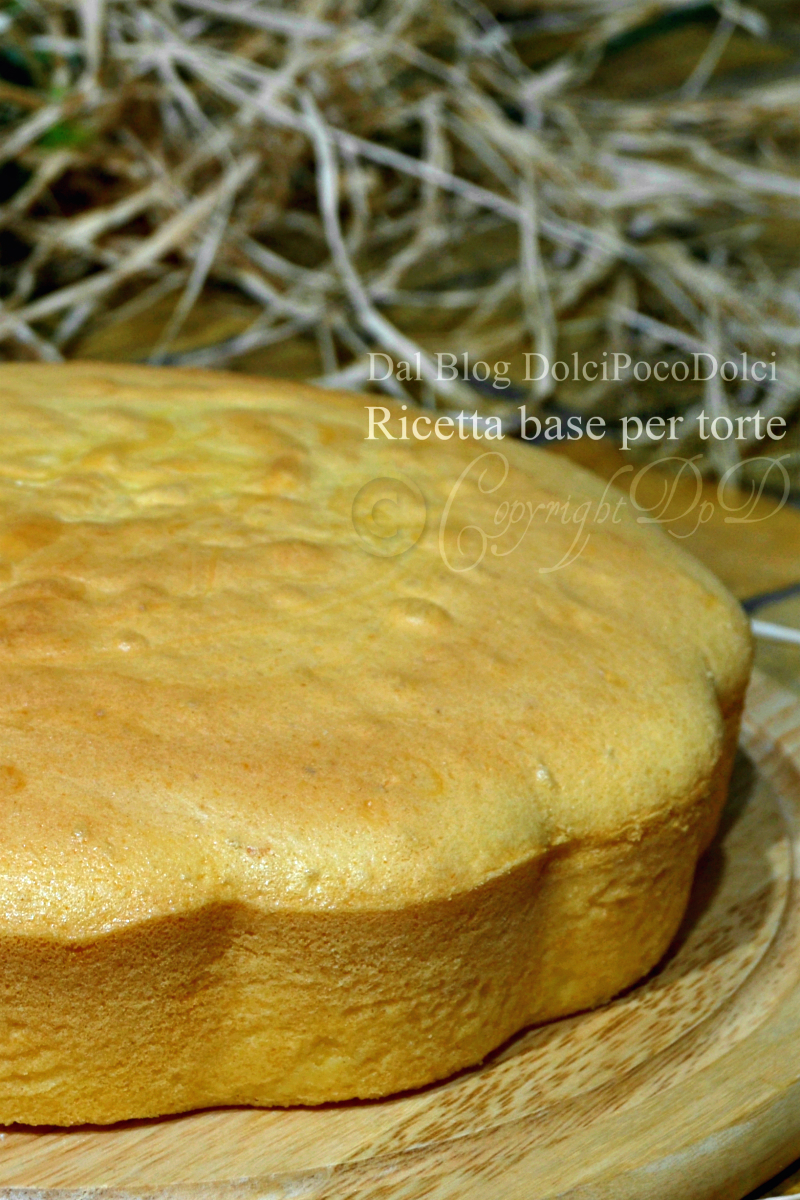 Ricetta base per torte