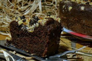 Torta cacao e noci morbida e sana senza burro ne uova