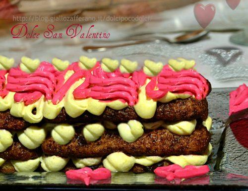 Dolce San Valentino ricotta cioccolato e peperoncino