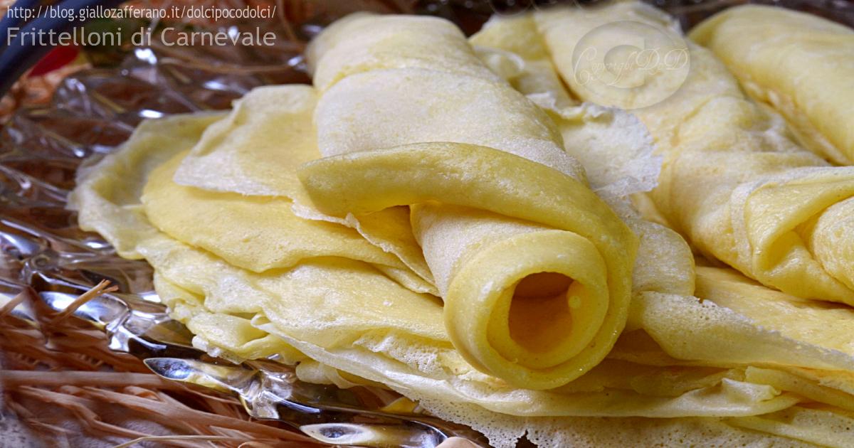 frittelloni ricetta di carnevale