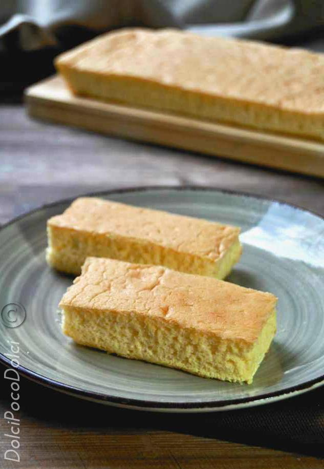 Pan di spagna per merendine