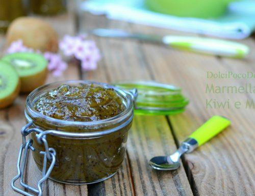 Marmellata di kiwi e mela senza fruttapec