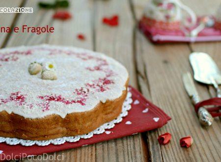 Torta panna e fragole – dolce da colazione