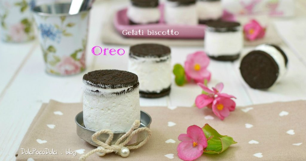 Gelati biscotto Oreo