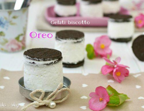 Gelati biscotto Oreo facile e veloce pronti in 5 minuti