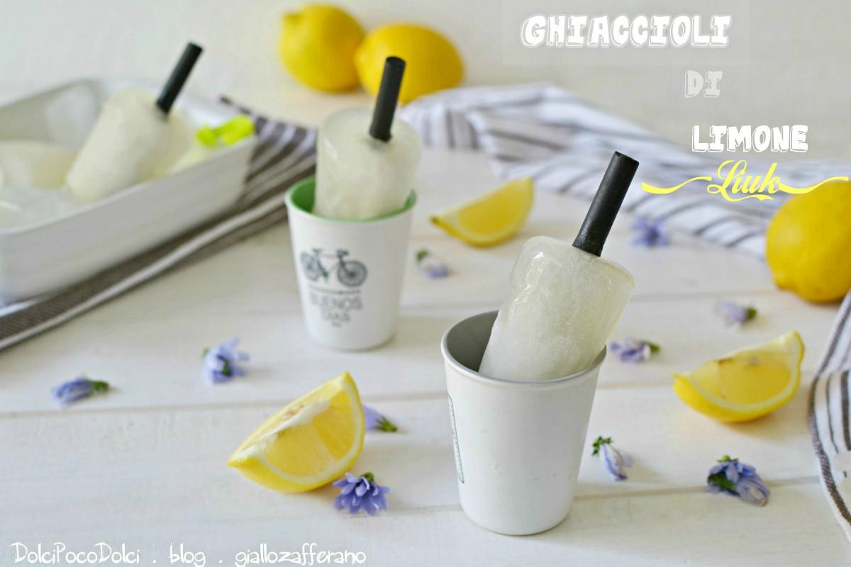 Ghiaccioli di limone liuk
