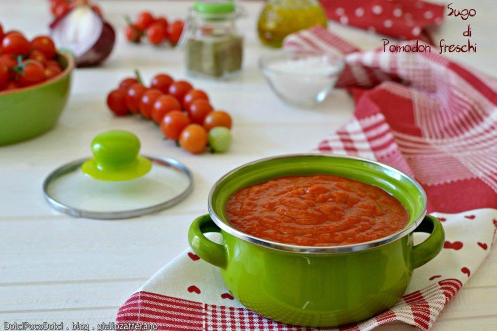 Sugo di pomodori freschi
