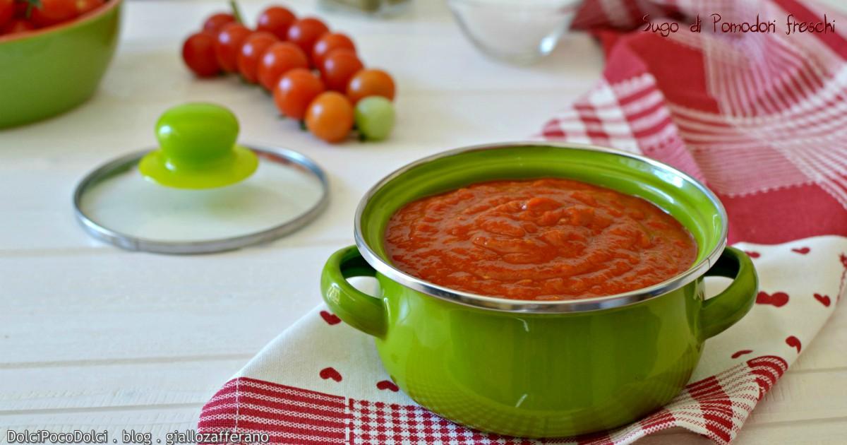 Sugo di pomodori freschi dolci poco dolci for Case di tronchi freschi