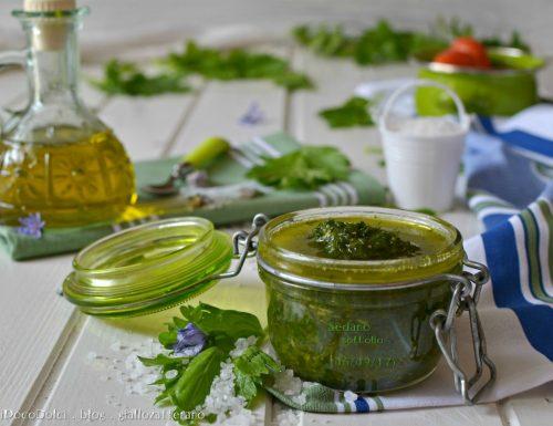 Sedano sott'olio – Conserve per l'inverno utili in cucina