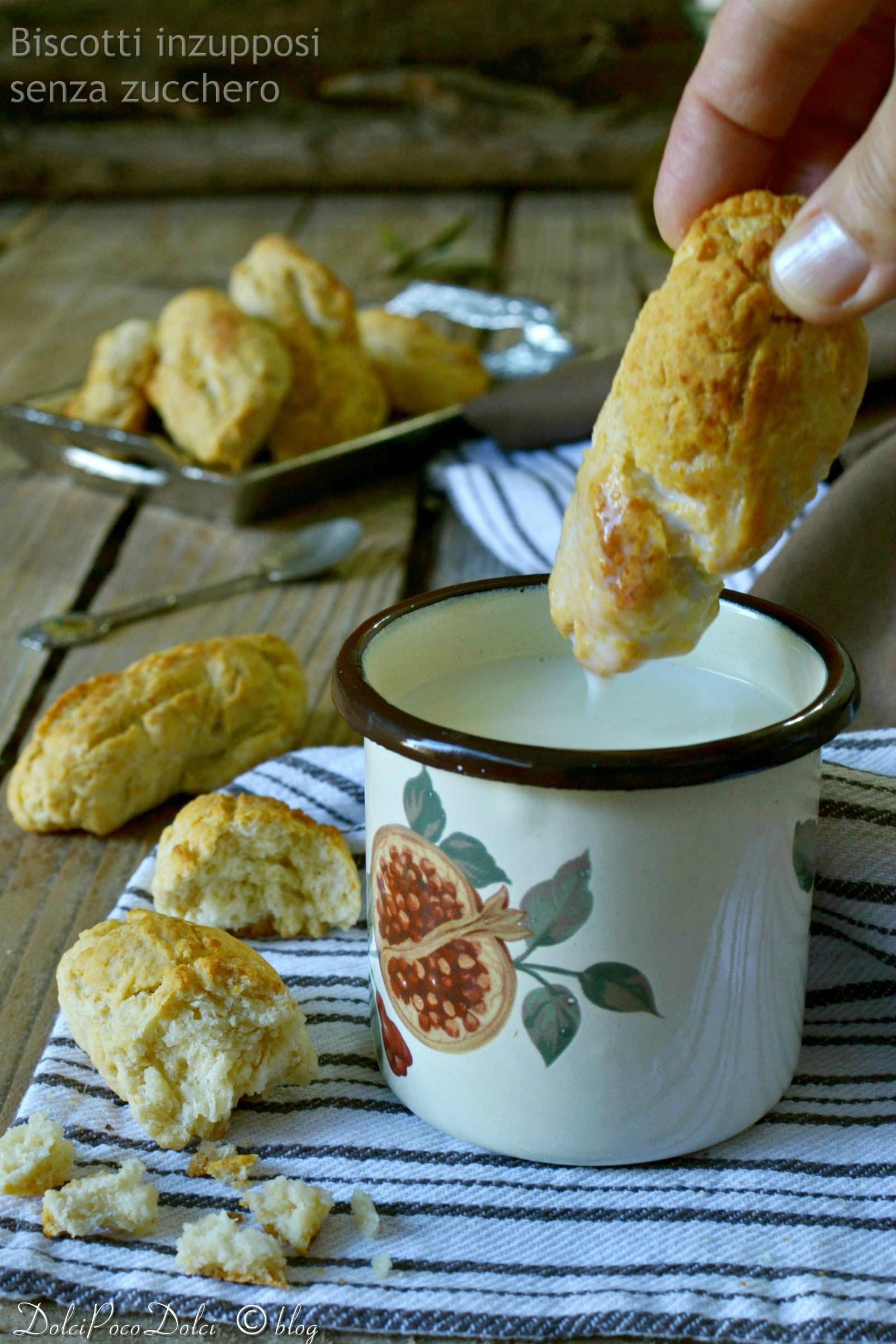 Biscotti inzupposi senza zucchero