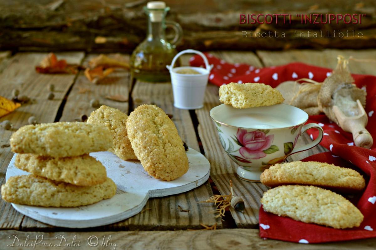 Biscotti per colazione inzupposi ricetta