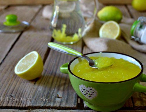 Crema di acqua e limone per farcire Dolci poco Dolci