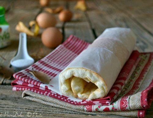 Pasta biscotto di neve d'albume – dolci senza zucchero ne lattosio