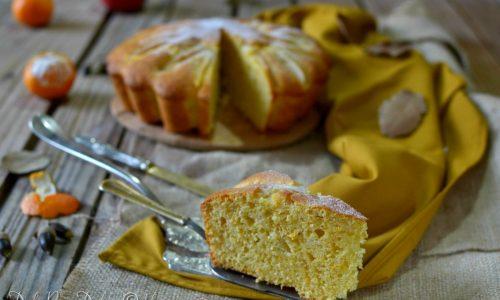 Torta clementine e mela morbida senza burro ne zucchero ne lattosio