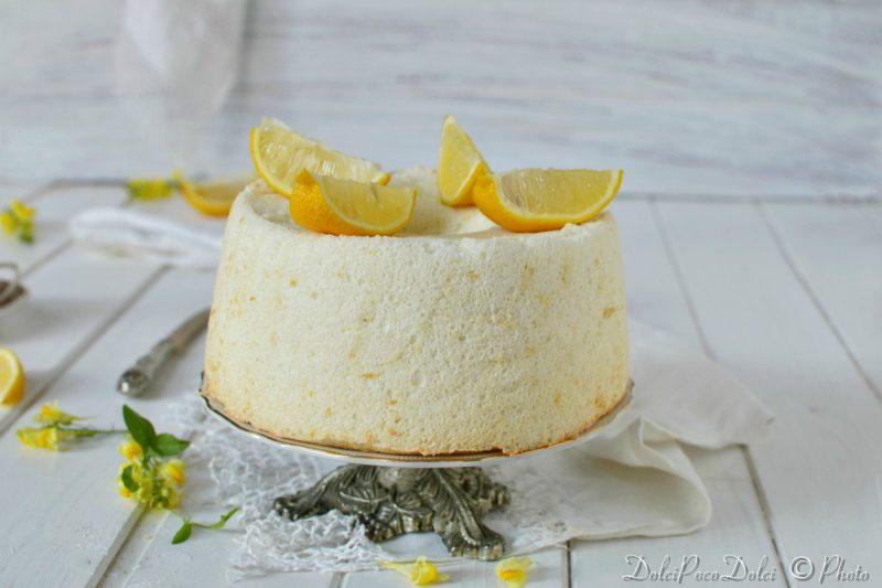 Torta Degli Angeli O Angel Cake – Dolci Senza Zucchero