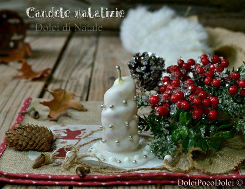 Candele natalizie commestibili da fare in pochi minuti senza forno