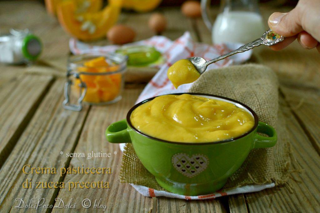 Crema pasticcera di zucca precotta