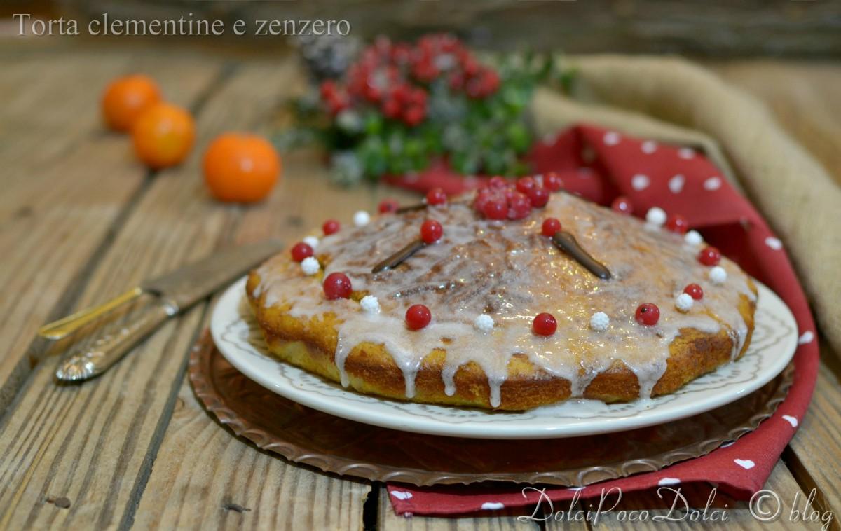 Torta clementine e zenzero