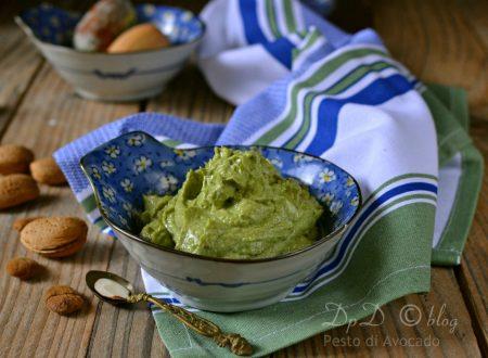 Pesto di avocado